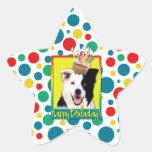 Birthday Cupcake - Border Collie Sticker