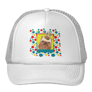 Birthday Cupcake - Brussels Griffon Trucker Hat