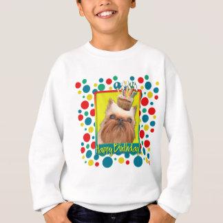 Birthday Cupcake - Brussels Griffon Sweatshirt