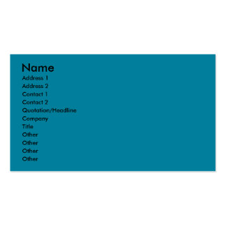 Birthday Cupcake - Bulldog - Dark Double-Sided Standard Business Cards (Pack Of 100)