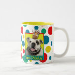 Birthday Cupcake - Bulldog - Light Mug