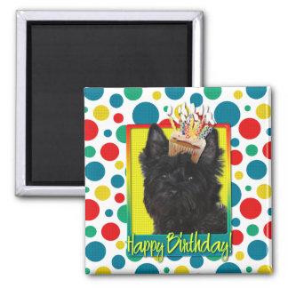 Birthday Cupcake - Cairn Terrier - Rosco Magnet