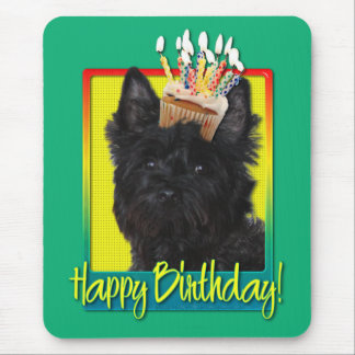Birthday Cupcake - Cairn Terrier - Rosco Mouse Pad