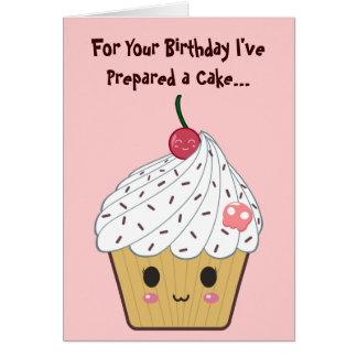 Birthday Cupcake Greeting Cards