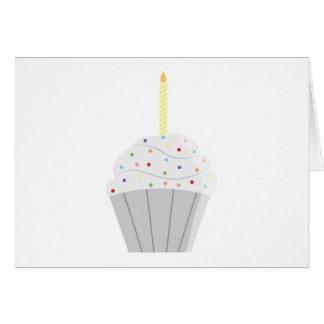 Birthday Cupcake Card (Blank)
