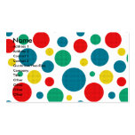 Birthday Cupcake - Cavalier - Blenheim Business Card