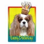 Birthday Cupcake - Cavalier - Blenheim Photo Cut Out