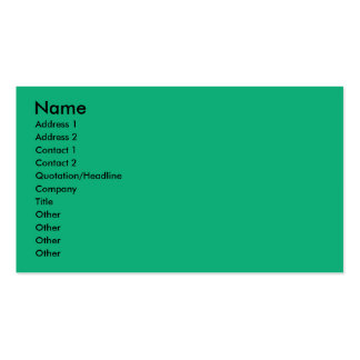 Birthday Cupcake - Cavalier - Tri-Color Business Card