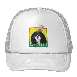 Birthday Cupcake - Cavalier - Tri-Color Trucker Hat