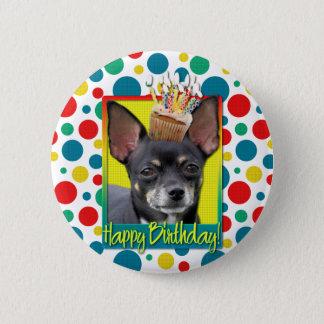 Birthday Cupcake - Chihuahua - Isabella Button