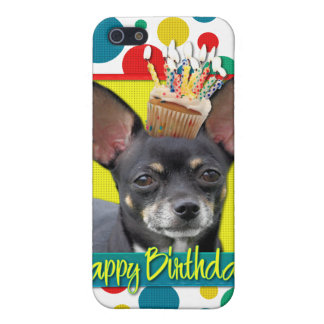 Birthday Cupcake - Chihuahua - Isabella iPhone 5 Case