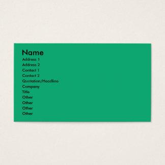 Birthday Cupcake - Coton de Tulear Business Card