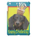Birthday Cupcake - Dachshund - Winston iPad Mini Case