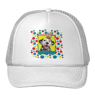 Birthday Cupcake - Dalmatian Trucker Hat