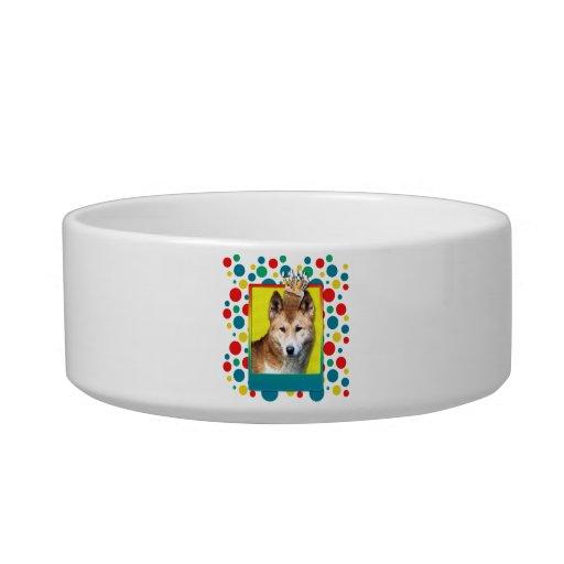 Birthday Cupcake - Dingo Cat Water Bowls