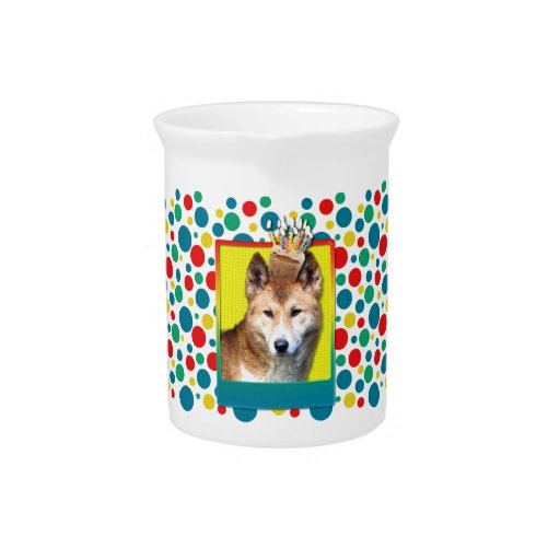 Birthday Cupcake - Dingo Drink Pitchers