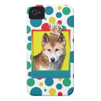 Birthday Cupcake - Dingo iPhone 4 Cover