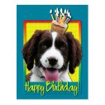 Birthday Cupcake -English Springer Spaniel -Baxter Post Cards