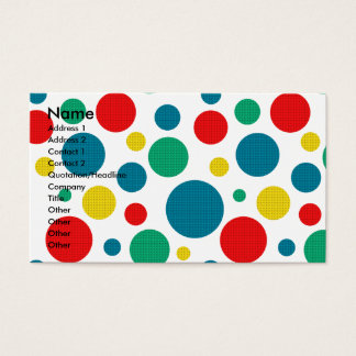 Birthday Cupcake - German Shepherd - Kuno Business Card