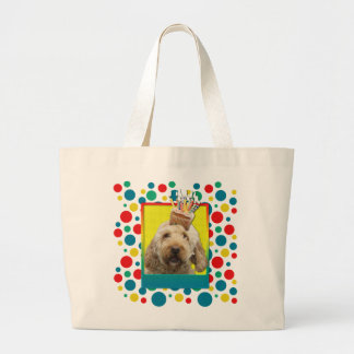 Birthday Cupcake - GoldenDoodle Bags