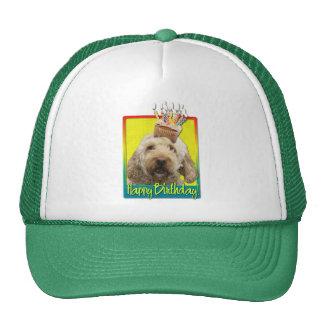 Birthday Cupcake - GoldenDoodle Trucker Hat