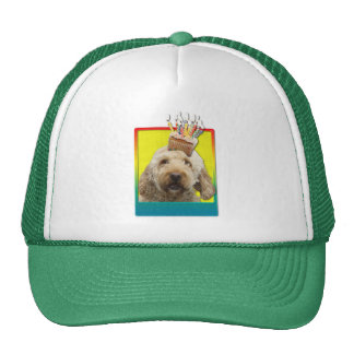Birthday Cupcake - GoldenDoodle Trucker Hat