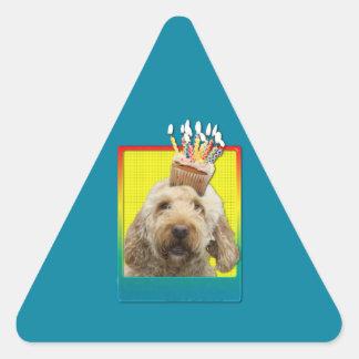 Birthday Cupcake - GoldenDoodle Stickers