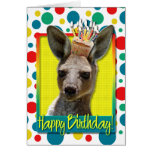 Birthday Cupcake - Kangaroo Greeting Card
