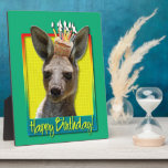 Birthday Cupcake - Kangaroo Plaque