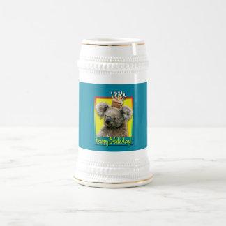 Birthday Cupcake - Koala Beer Stein