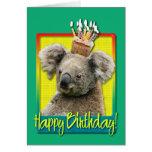 Birthday Cupcake - Koala Cards