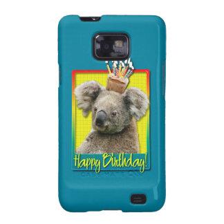 Birthday Cupcake - Koala Galaxy S2 Cases