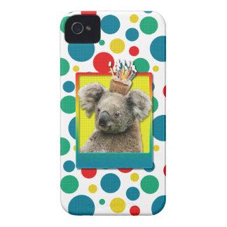Birthday Cupcake - Koala Case-Mate iPhone 4 Case