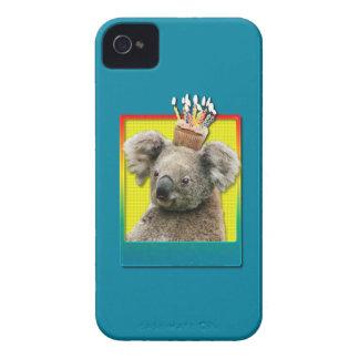 Birthday Cupcake - Koala iPhone 4 Cases