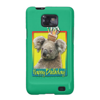 Birthday Cupcake - Koala Samsung Galaxy S2 Covers