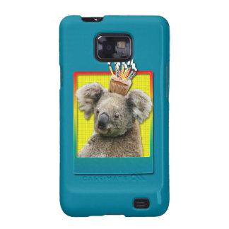 Birthday Cupcake - Koala Samsung Galaxy S2 Case