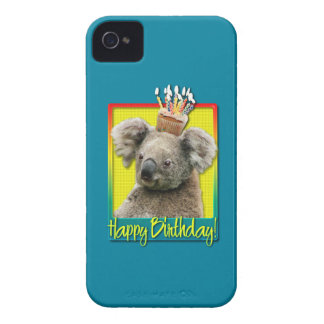 Birthday Cupcake - Koala iPhone 4 Case-Mate Cases