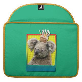 Birthday Cupcake - Koala Sleeves For MacBooks