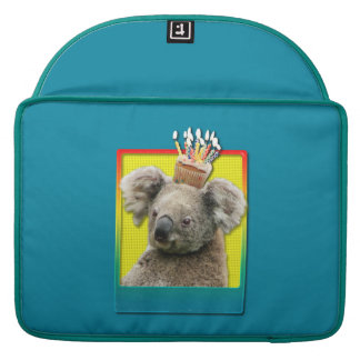 Birthday Cupcake - Koala MacBook Pro Sleeves