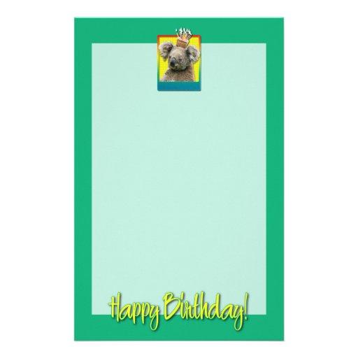 Birthday Cupcake - Koala Stationery