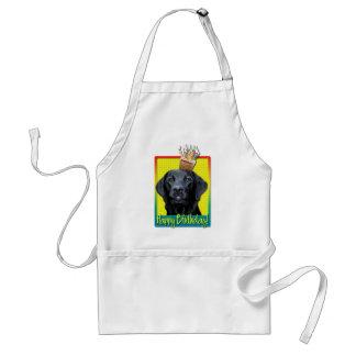 Birthday Cupcake - Labrador - Black - Gage Adult Apron