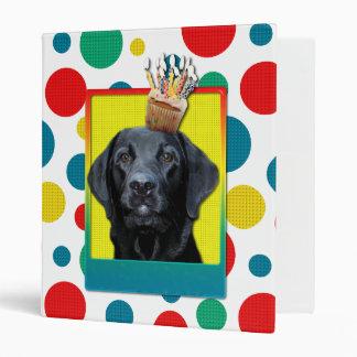 Birthday Cupcake - Labrador - Black - Gage Binder