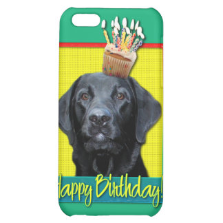 Birthday Cupcake - Labrador - Black - Gage Cover For iPhone 5C