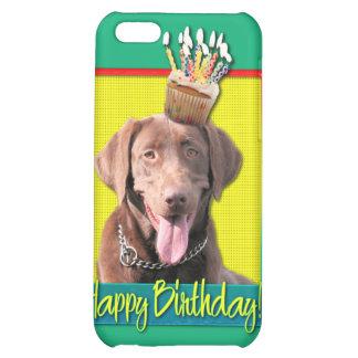 Birthday Cupcake - Labrador - Chocolate Case For iPhone 5C