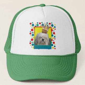 Birthday Cupcake - Lowchen Trucker Hat