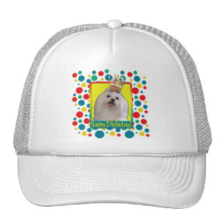 Birthday Cupcake - Maltese Trucker Hat