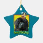 Birthday Cupcake - Newfoundland Ornament