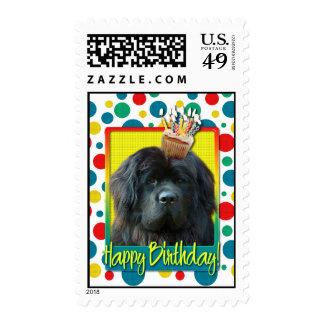 Birthday Cupcake - Newfoundland Postage Stamps