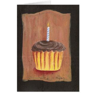 Birthday Cupcake Notecard