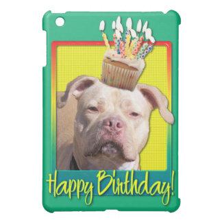 Birthday Cupcake - Pitbull - Jersey Girl iPad Mini Cover
